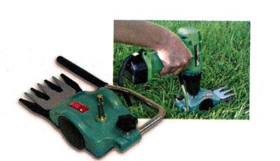 насадка для травы на дрель